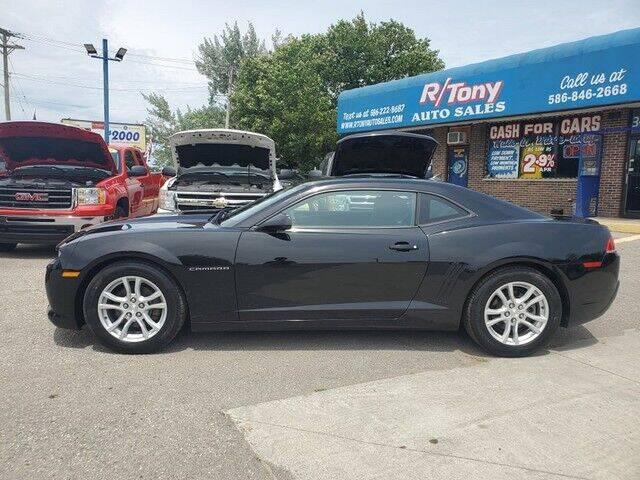 2015 Chevrolet Camaro for sale at R Tony Auto Sales in Clinton Township MI