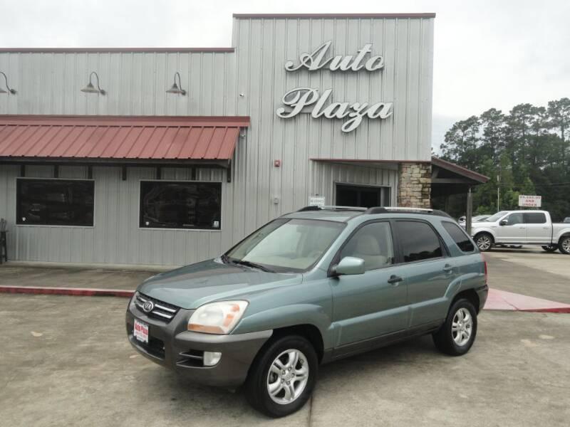 2006 Kia Sportage for sale at Grantz Auto Plaza LLC in Lumberton TX