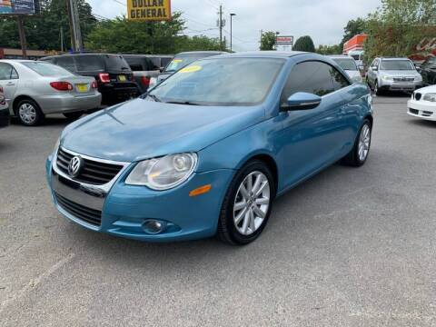 2009 Volkswagen Eos for sale at Diana Rico LLC in Dalton GA