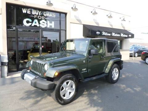 2008 Jeep Wrangler for sale at Wilson-Maturo Motors in New Haven CT