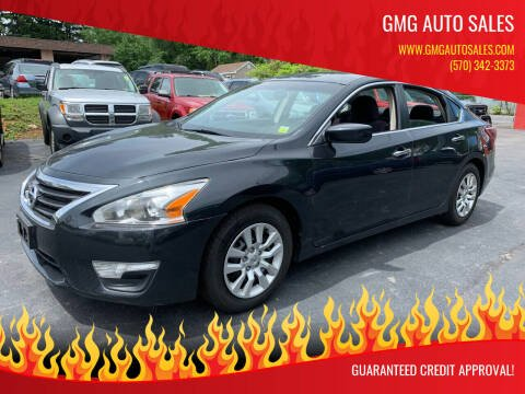 2013 Nissan Altima for sale at GMG AUTO SALES in Scranton PA
