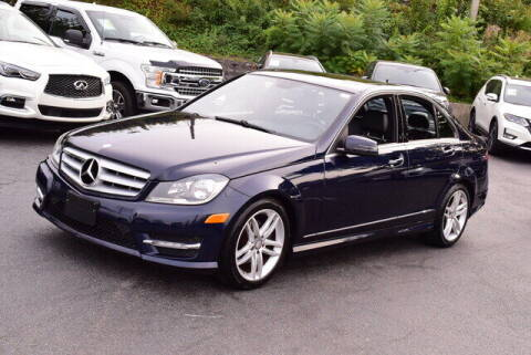 2012 Mercedes-Benz C-Class for sale at Automall Collection in Peabody MA
