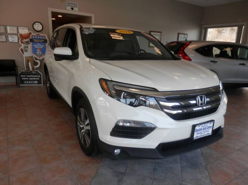 2018 Honda Pilot for sale at ABSOLUTE AUTO CENTER in Berlin CT