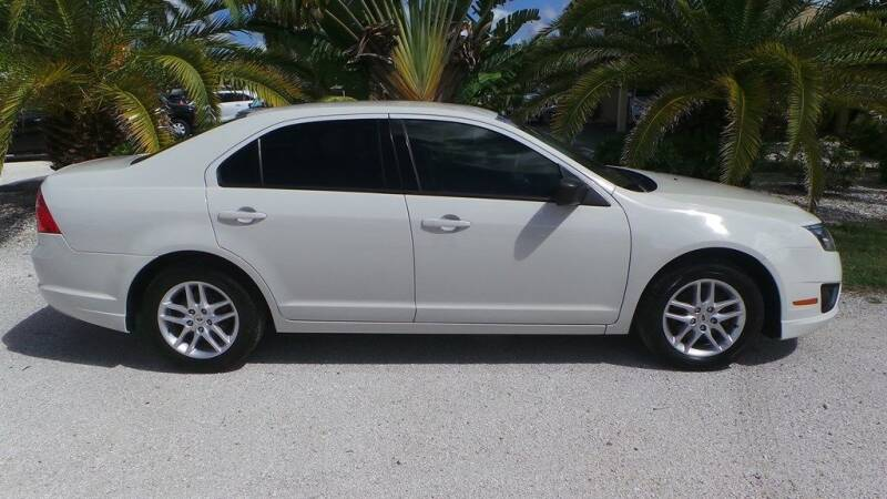 2012 Ford Fusion S 4dr Sedan - Fort Myers FL