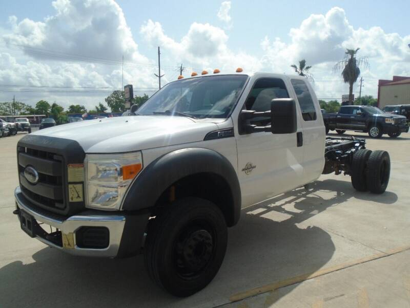 2012 Ford F-550 for sale at Premier Foreign Domestic Cars in Houston TX