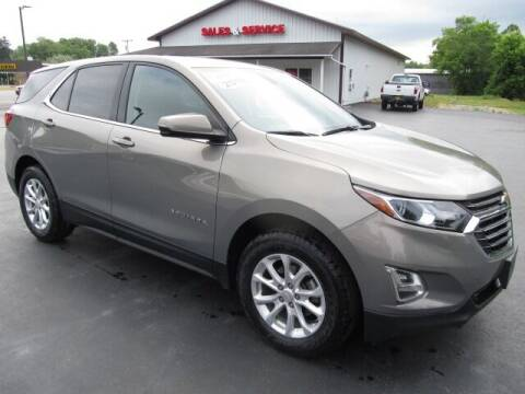 2018 Chevrolet Equinox for sale at Thompson Motors LLC in Attica NY