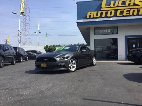 2015 Ford Mustang for sale at Lucas Auto Center in South Gate CA
