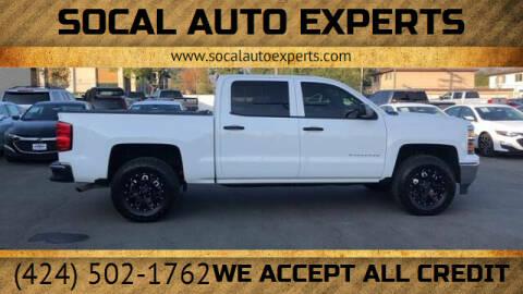 2014 Chevrolet Silverado 1500 for sale at SoCal Auto Experts in Culver City CA