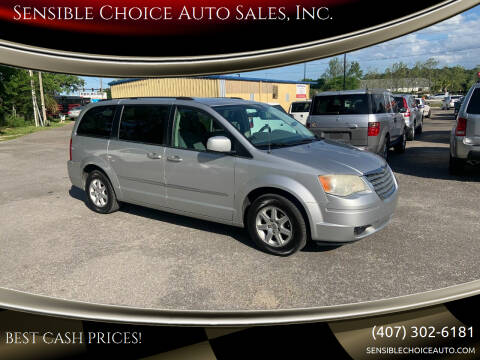 2010 Chrysler Town and Country for sale at Sensible Choice Auto Sales, Inc. in Longwood FL
