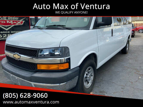 2016 Chevrolet Express Passenger for sale at Auto Max of Ventura in Ventura CA