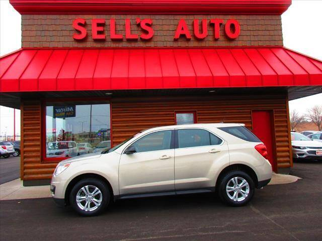 2012 Chevrolet Equinox for sale at Sells Auto INC in Saint Cloud MN