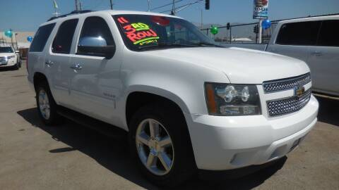 2011 Chevrolet Tahoe for sale at Luxor Motors Inc in Pacoima CA