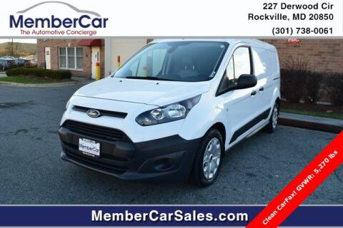 2018 Ford Transit Connect Cargo for sale at MemberCar in Rockville MD