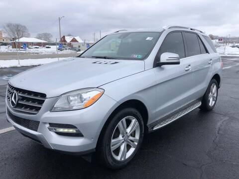 2013 Mercedes-Benz M-Class for sale at Ultra 1 Motors in Pittsburgh PA