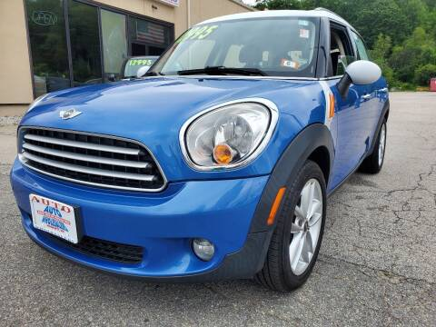 2011 MINI Cooper Countryman for sale at Auto Wholesalers Of Hooksett in Hooksett NH