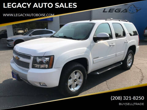 2013 Chevrolet Tahoe for sale at LEGACY AUTO SALES in Boise ID