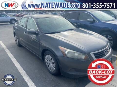 2008 Honda Accord for sale at NATE WADE SUBARU in Salt Lake City UT