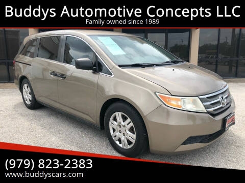 2011 Honda Odyssey for sale at Buddys Automotive Concepts LLC in Bryan TX