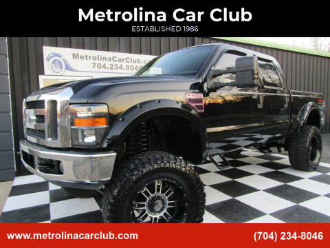2008 Ford F-250 Super Duty for sale at Metrolina Car Club in Matthews NC