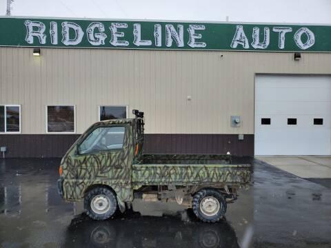 1996 Suzuki UTV for sale at RIDGELINE AUTO in Chubbuck ID