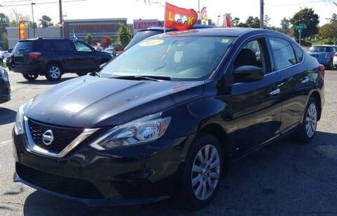 2017 Nissan Sentra for sale at L&M Auto Import in Gastonia NC
