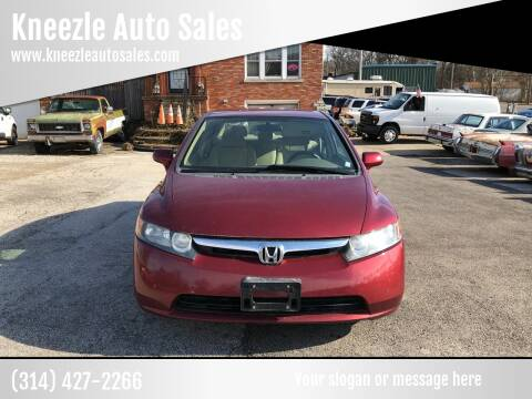 2007 Honda Civic for sale at Kneezle Auto Sales in Saint Louis MO