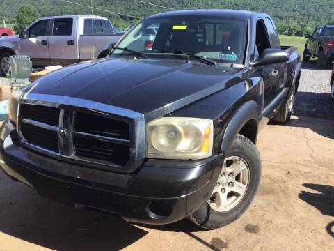2006 Dodge Dakota for sale at Troys Auto Sales in Dornsife PA