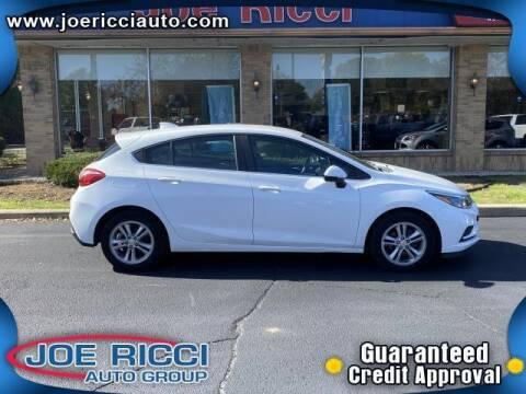 2017 Chevrolet Cruze for sale at JOE RICCI AUTOMOTIVE in Clinton Township MI