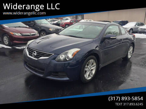 2011 Nissan Altima for sale at Widerange LLC in Greenwood IN