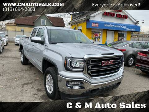 2016 GMC Sierra 1500 for sale at C & M Auto Sales in Detroit MI