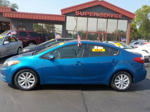 2015 Kia Forte for sale at Super Service Used Cars in Milwaukee WI
