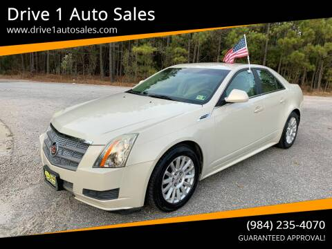 2010 Cadillac CTS for sale at Drive 1 Auto Sales in Wake Forest NC
