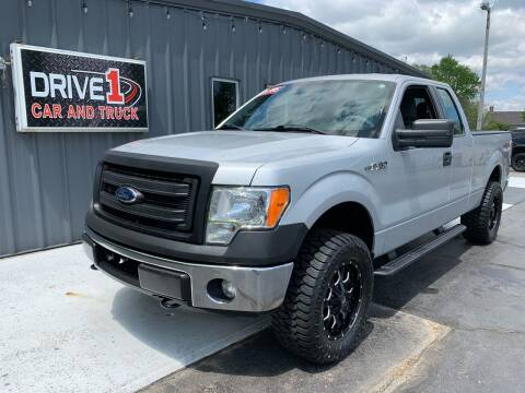 2014 Ford F-150 for sale at Drive 1 Car & Truck in Springfield OH
