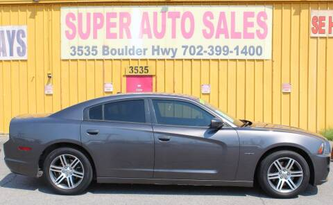 2014 Dodge Charger for sale at Super Auto Sales in Las Vegas NV