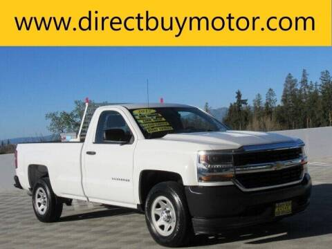 2017 Chevrolet Silverado 1500 for sale at Direct Buy Motor in San Jose CA
