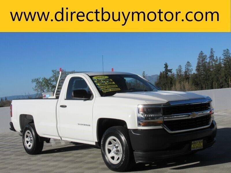 2017 Chevrolet Silverado 1500 for sale at Direct Buy Motor in San Jose CA