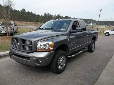 2006 Dodge Ram Pickup 2500 for sale at Anderson Wholesale Auto in Warrenville SC