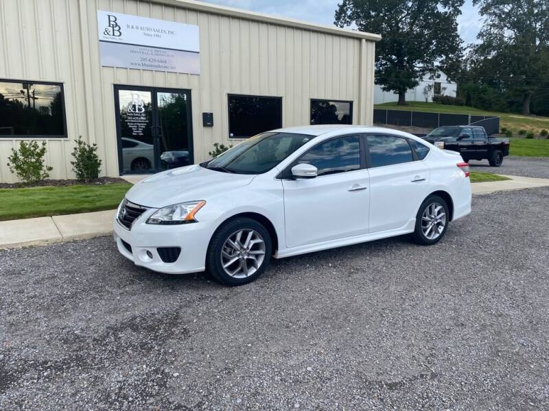 2015 Nissan Sentra for sale at B & B AUTO SALES INC in Odenville AL