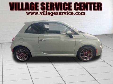 2015 FIAT 500 for sale at VILLAGE SERVICE CENTER in Penns Creek PA