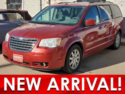 2010 Chrysler Town and Country for sale at Jacksons Car Corner Inc in Hastings NE
