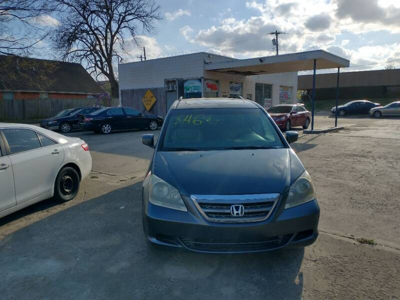 2006 Honda Odyssey for sale at A BOTTOM DOLLAR AUTO SALES in Shawnee OK