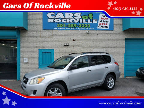 2009 Toyota RAV4 for sale at Cars Of Rockville in Rockville MD