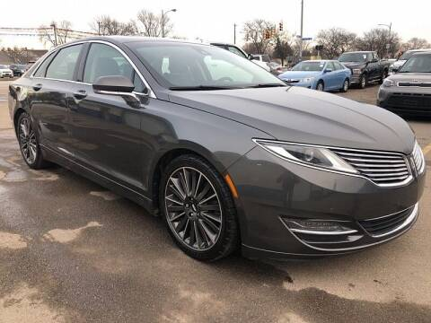 2015 Lincoln MKZ for sale at CItywide Auto Credit in Oregon OH