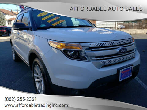 2015 Ford Explorer for sale at Affordable Auto Sales in Irvington NJ