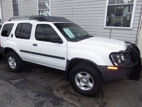 2003 Nissan Xterra for sale at Fulmer Auto Cycle Sales - Fulmer Auto Sales in Easton PA