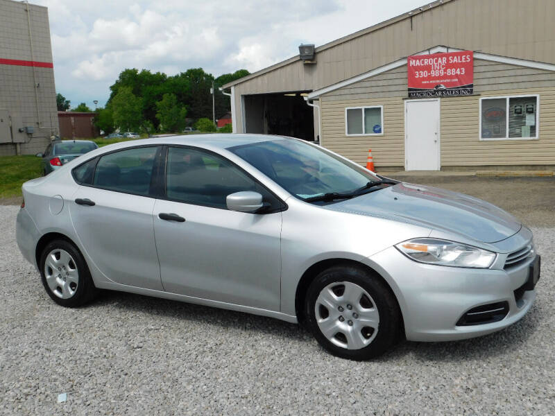 2013 Dodge Dart for sale at Macrocar Sales Inc in Akron OH