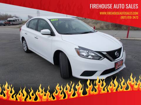 2017 Nissan Sentra for sale at Firehouse Auto Sales in Springville UT