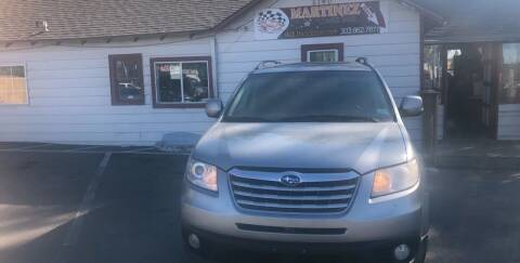 2010 Subaru Tribeca for sale at Martinez Cars, Inc. in Lakewood CO