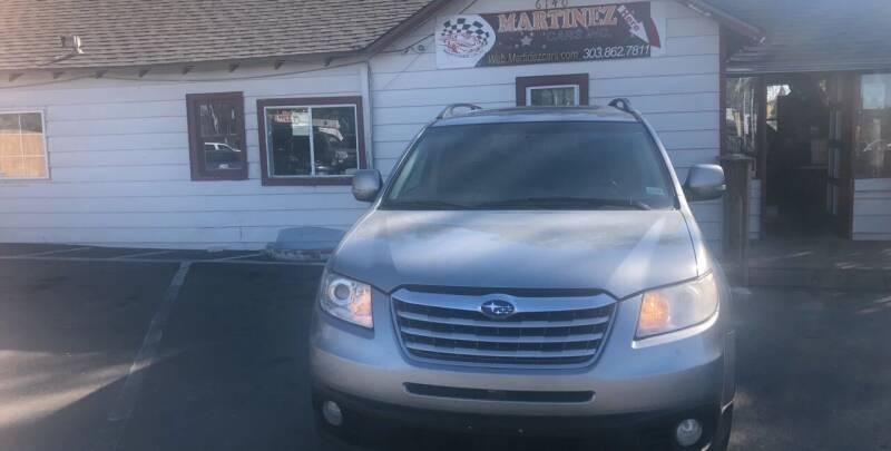 2010 Subaru Tribeca for sale at Martinez Cars, Inc. in Lakewood CO