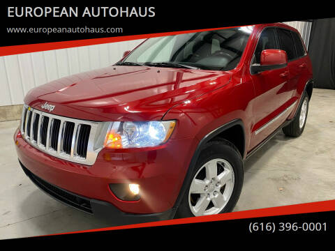 2011 Jeep Grand Cherokee for sale at EUROPEAN AUTOHAUS in Holland MI